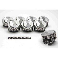 Chevy 454 SPEED PRO Hypereutectic Coated 30cc Dome Pistons+CAST Rings Kit STD