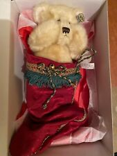 "Annette Funicello "" Hidden In My Stocking"" Christmas Bear In Box! No.420 Bear Co"