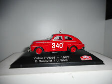VOLVO PV544 RALLY MONTE CARLO 1962 ROSQVIST #20 ATLAS IXO 1/43