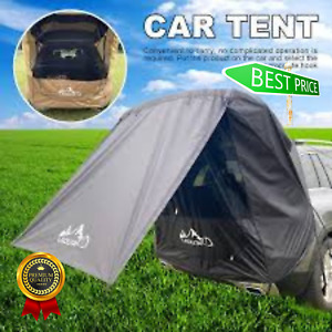 Portable Camping Car SUV Trunk Tent Sun Shelter Rear Sunshade Rainproof Canopy