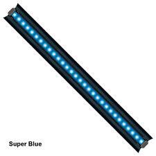 "2x 36"" High Output 1W Aquarium LED Light 6500K Plant Refugium Marine Actinc Blue"