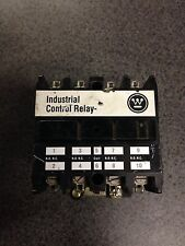 Westinghouse ARD440T 600 VDC Industrial Control Relay 240 Volt Coil