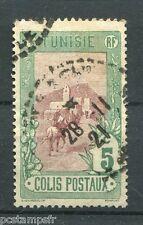TUNISIE 1906, timbre 1, COLIS POSTAUX, oblitéré, VF used stamp