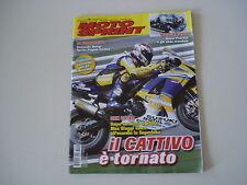 MOTOSPRINT 9/2007 KAWASAKI VERSYS/APRILIA PEGASO 650 FACTORY