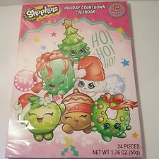 Shopkins Advent Holiday Countdown Calendar Christmas with 24 Milk Chocolates