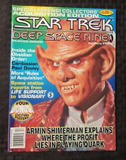 1995 STAR TREK Deep Space Nine Magazine v.12 VF+ w/ Posters Starlog