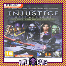Injustice: Gods Among Us - Ultimate Edition (PC) Brand New