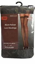 Ladies Women's Fishnet Tights Net Lace White Black Red Stockings