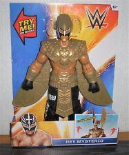 Wrestling WWE Figur Rey Mysterio Transforms RAR ca. 31cm Mattel OVP mit Flügel