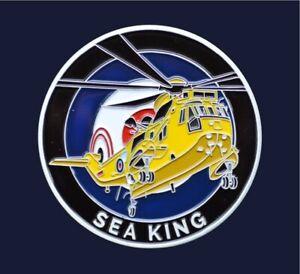 RAF100 Coin - Royal Air Force - Sea King Chinook