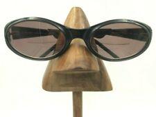 Vintage Polo Sport 1015/S 4ER Black Oval Sport Sunglasses Frames Italy