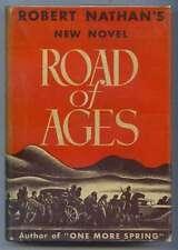Road of Ages Robert Nathan 1st edition 1935 Novel
