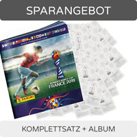 Panini Frauen WM 2019 - Sammelsticker - Komplettsatz + Album