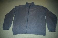 reebok golf windbreaker jacket navy size M Medium airtex lined full zip vented