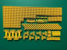 New Genuine Yellow Lego Technic Studless beams liftarms connectors 100