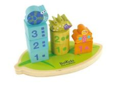 Stack & Count Shapes Numbers Wooden Educational Toy kids