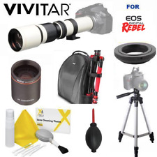 8K 500-1000MM TELESCOPIC LENS + BACKPACK FOR CANON EOS REBEL T3 T3I T5 T5I T6 T7