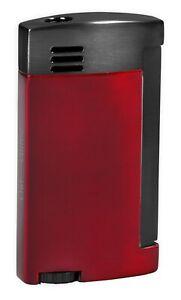 """Vertigo """"Amigo"""" Red Butane Cigar Lighter,Torch Flame, Large Flame Adjuster"""
