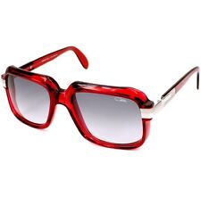 Cazal Vintage Sunglasses 607 006 Red Made in Germany 100% Authentic
