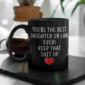 Daughter-In-Law Gifts Best Daughter-In-Law Ever Coffee Mug Best Gift For Friends