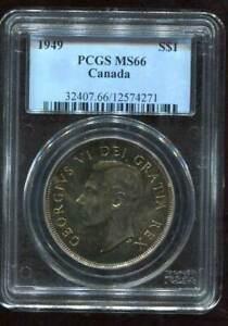 1949 $1 Canada (PCGS-MS66)