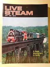 Live Steam Magazine 1991 May Tender brakes Valve Gear adjustment Air test