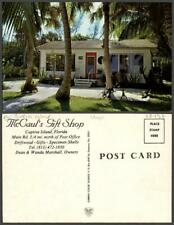 FLORIDA Captiva Island shop studio Chrome VINTAGE POSTCARD