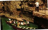 Vintage Postcard - Start of Boat Ride At Ausable Chasm New York NY #1695