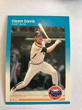 1987 Fleer Glen Davis Houston Astros #55