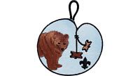 BOY SCOUT WOOD BADGE BEAR TRADING PATCH OFFICIAL LICENSED COLLECTORS BSA OA NEW