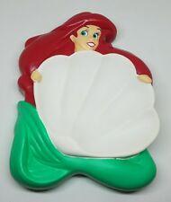 Little Mermaid Ariel floating soap dish 1991 Avon plastic foam disney vintage