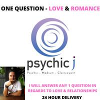 Psychic Reading One Question  - Love & Romance Medium Empath Clairvoyant