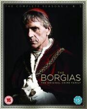 The Borgias Complete Season 1 2- and - DVD R2