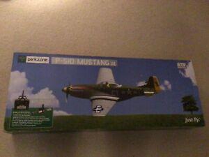 RARE ParkZone Eflite RTF P-51D Mustang with DX-4e Spektrum Radio PKZ2200 UMX BNF