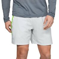 Under Armour Mens Activewear Shorts Light Gray Size Small S Athletic $35 #499