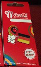 LONDON 2012 OLYMPICS COCA COLA GERMANY FLAG PIN BADGE