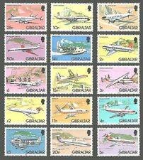 Aviation Single Gibraltar Stamps