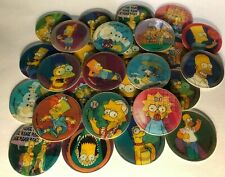 1996 Magic Motion The Simpsons Tazos Lot 28