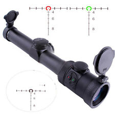 Tactical EB1-4x24 Tactical Rifle Scope 30mm Monotube Scope Sight for 20mm Weaver