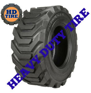 (2) 12-16.5 NEW OTR OUTRIGGER LOOSE 12 PLY TIRE  12x16.5,12165  TYRE,