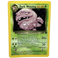 Dark Weezing 14/82 Pokemon Card - Holo & Rare - Team Rocket Set - WOTC 2000