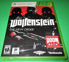 Wolfenstein: The New Order Microsoft Xbox 360 *Factory Sealed! *Free Shipping!