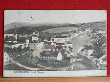 Künstlerkarte  Dobersberg an der Thaya - Bezirk Waidhofen/Thaya gel ca 1928   m1