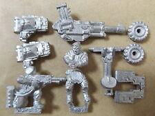 Warhammer 40k rara Imperial Guard tormenta tropa Autocannon equipo (Metal)