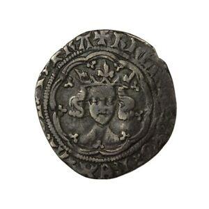 Richard II Silver Halfgroat Type III/II Mule - D1373 - Hammered British Coins