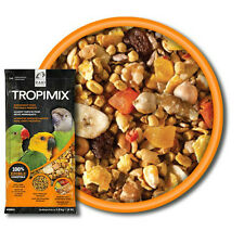 4 lb Tropimix Small Parrot No Shell Hull-Less Bird Food Mix More Food Less Waste