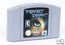 PERFECT DARK-N64 Nintendo 64 rétro Cartouche de jeu PAL