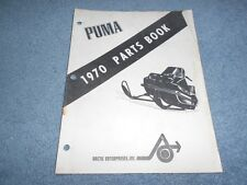 1970 ARCTIC CAT PUMA SNOWMOBILE PARTS BOOK ILLUSTRATED FACTORY MANUAL OEM
