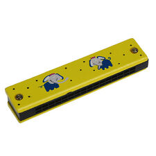 Wooden HArmonica For Child Kids Music Educational Toy-Random Pattern AD