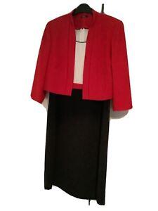 Roman Originals Size 14 Sleeveless Shift Dress With Jacket